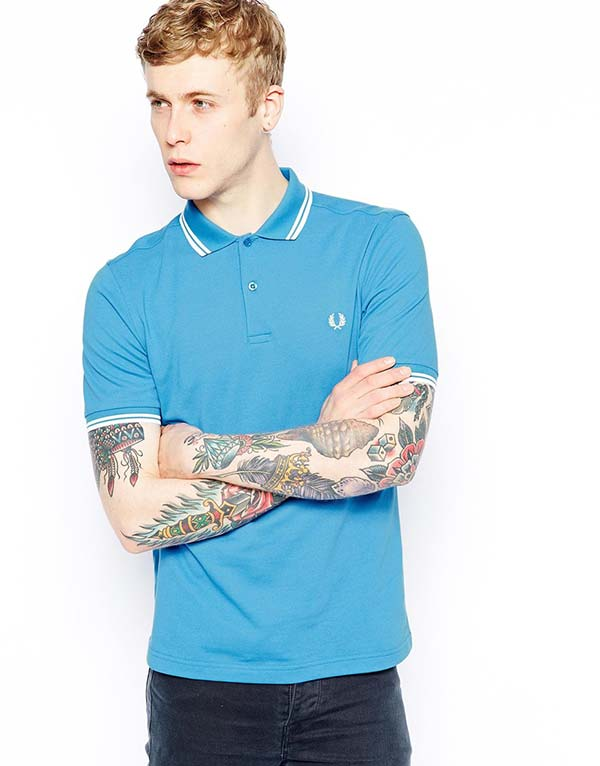nice incredible studio fred perry polo with twin tip in. Black Bedroom Furniture Sets. Home Design Ideas