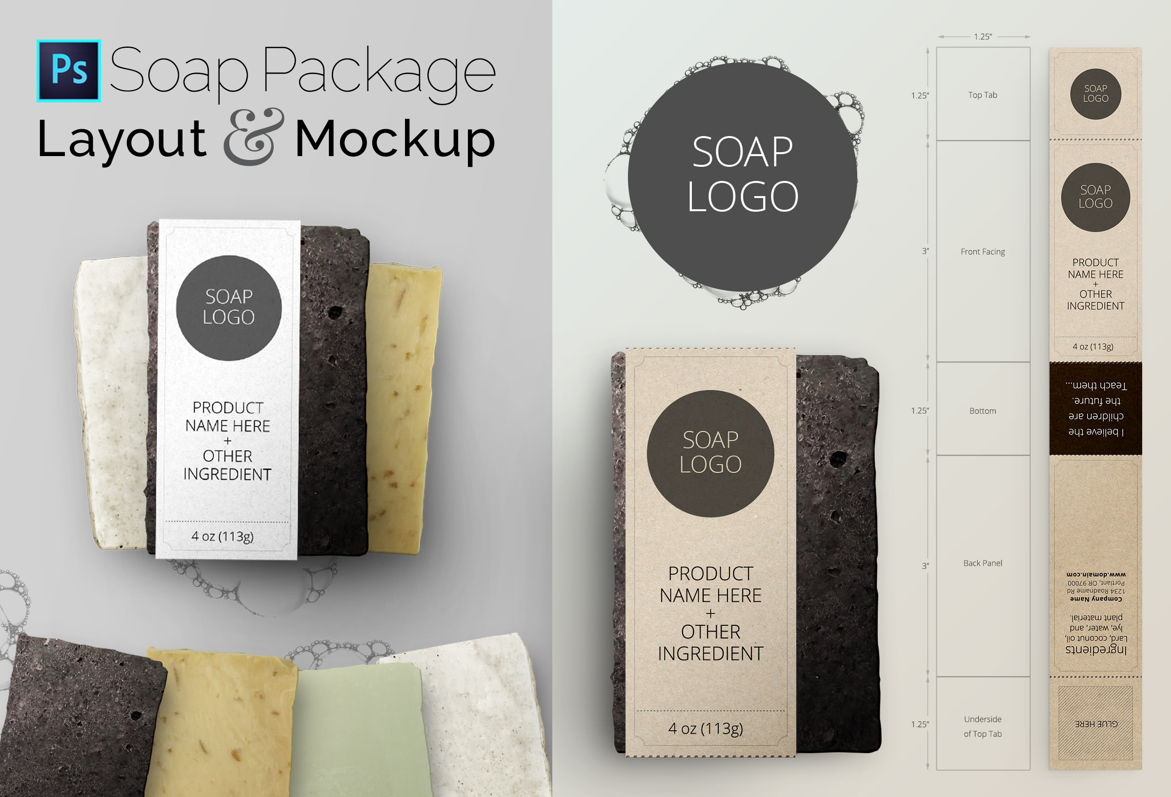 Nice Incredible Studio – New Release: Soap Layout and